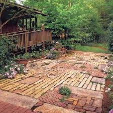 Inexpensive Patio Floor Ideas by 88 Quick And Easy Decorative Upgrades Patios Patchwork And Bricks