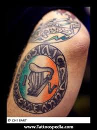 77 Irish Tattoos To Celebrate Your Appreciation For And Celtic Heritage Shamrock Clover Cross Claddagh Tattoo Designs More
