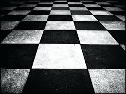 Checkered Vinyl Flooring Roll by Gloss Chequer Black White Large Tiles Walls And Floorsblack