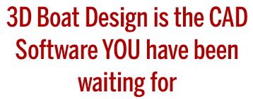 3d boat design com cad software