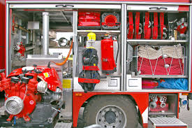 Fire Firefighters Fire Truck Volunteer Firefighter 3 Background ...