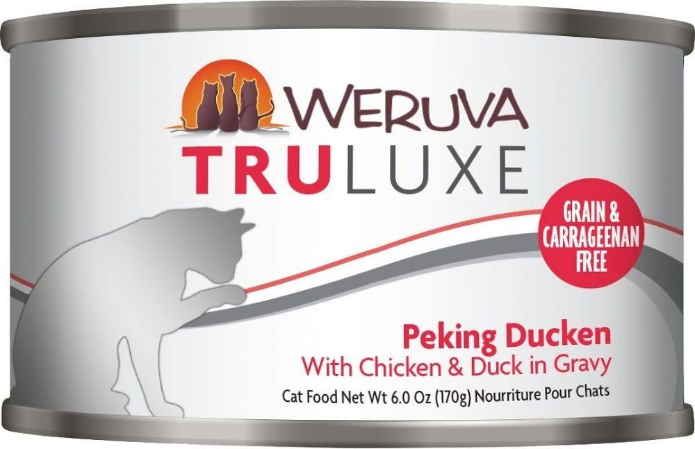 Weruva Adult Cat Wet Food - Peking Ducken, Chicken & Duck in Gravy, 170g