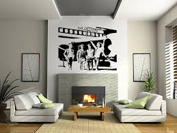 Alluring Living Room Led Zeppelin Wall Art Sticker Rock Music Decal Band Modern Decals