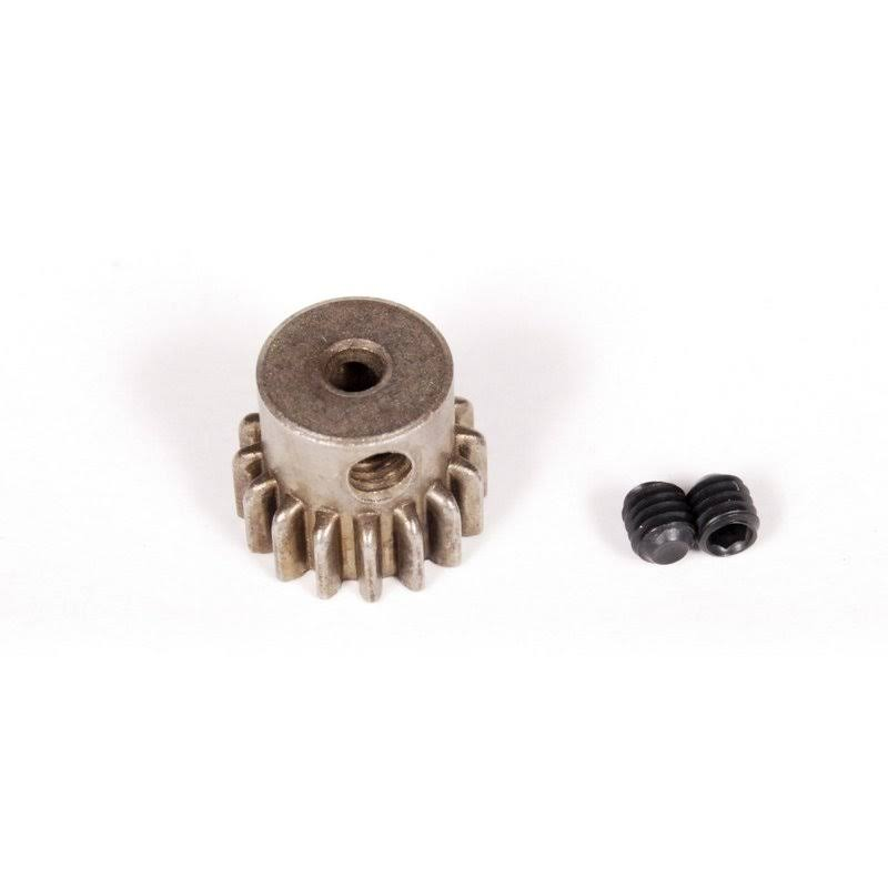 Axial Steel Motor Shaft Pinion Gear - 32P, 16T, 3mm