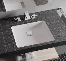 grohe cube keramik einbauwaschtisch unten 50x37cm weiß