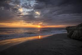 Moonlight Beach Encinitas California Taking A Long Walk From