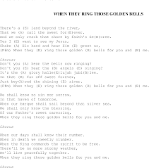 Gospel Song: When_they_ring_those_bells, Lyrics And Chords. | Sounds ... Killing Time Clint Black Song Lyrics Pinterest Music Lyrics The Fairly Oddparents Theme Odd Parents Wiki Fandom Shawntaylortunescomlyrics Folk Songs With Alisha Gabriel Free Educational Toddler Learning Videos Online Fun Beyonce Knowles Stop Sign Pdf 12lyrics South African Ice Cream Truck Youtube Songbook Suzi Shelton Ukule Chords Rock New Love Song For Give Me E Reason Tracy 5 Little Pumpkins Sitting On A Gate