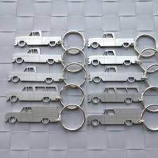 100 1960 Chevrolet Truck GMC Stepside Fleetside C10 Keychains 1966 EBay