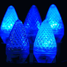 twinkle c7 led blue replacement lights novelty lights inc