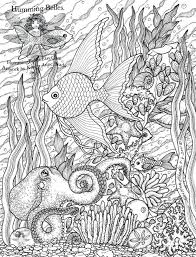 Printable Coloring Pages Adults Only Free Christmas For Pdf Humming Belles Undersea Illustrations Colouring