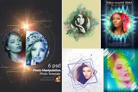 Photo Manipulation PSD Templates Add Ons Creative Market