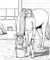 Realistic Horse Coloring Pages Page Of