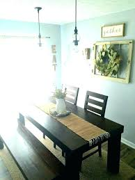 Rustic Dining Room Decorating Ideas Wall Decor Renovation Small