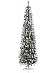 195M 65ft PVC Flocked Spruce Pine Artificial Christmas Tree