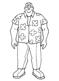 Ben 10 Max Tennyson Coloring Pages
