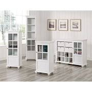 White Storage Cabinets With Drawers by Storage Cabinets With Doors