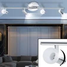 18 4 w led decken spot leiste licht schiene wohn raum