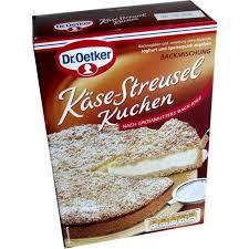dr oetker backmischung käse streusel kuchen 730g