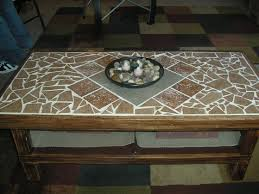 fabulous mosaic coffee table outdoor table ideas on tile