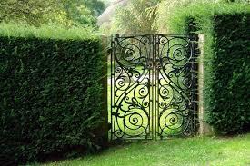 Metal garden gates – wrought iron garden gates or modern designs