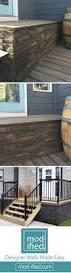 Metal Deck Skirting Ideas by Best 25 Deck Skirting Ideas On Pinterest Front Porch Deck Deck