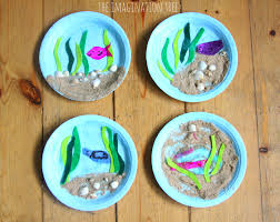 Paper Plate Ocean Craft Activity