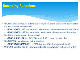 Ceiling Function Roundup Excel by Round U2013 Alter The