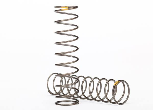 Traxxas Shock Springs Natural Finish GTS Yellow 0.22 Rate TRA8042