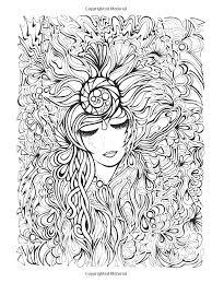 Flower Face Woman