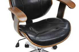Task Chair Walmart Canada by Amazon Com Baxton Studio Rathburn Modern Office Chair Walnut