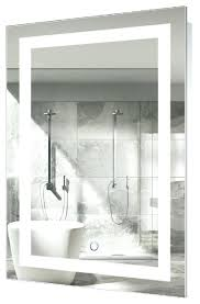 wall mirrors led lighted 24x36 bathroom mirror wall mount with