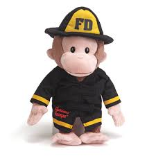 Curious George Fireman 13