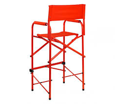 Professional Tall Folding Directors Chair all aluminum tall directors chair by e z up
