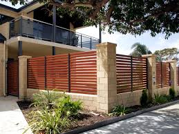 Modern House Minimalist Design by Minimalist House Fence With Modern Design Artdreamshome