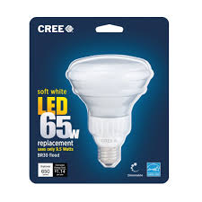 cree 65w equivalent soft white 2700k br30 led flood light bulb