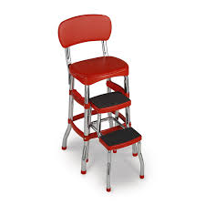 100 Retro High Chairs Cosco Red Counter Chair Step Stool Walmartcom