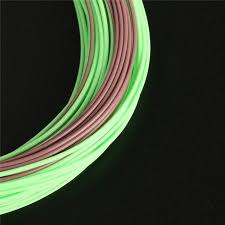 fly fishing line with sinking tip 80ft brown lemon green color