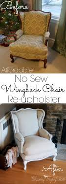 25 unique no sew slipcover ideas on pinterest wingback chair