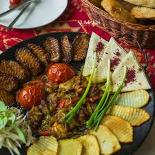national cuisine of sadj meal with vegetables sumakhrestaurant sumakh beatgroup