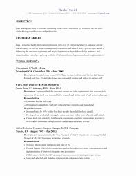 Good Resume Objective Examples Beautiful Objectives Resumes Of With Regard To Sample Customer Service For