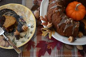 Nordic Ware Pumpkin Loaf Pan by Keep Calm And Bundt On Pumpkin Chocolate Harvest Bundt Cake