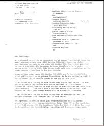IRS Letter of Determination Palo Alto Forward