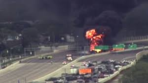 Officer Honored For Saving Lives After Tanker Truck Explosion ... Tanker Truck Fire Kills Driver Temporarily Shuts Down I270 And Hwy 20 Near I80 In Sierra Closed Due To Tanker Truck Explosion One Person Killed Another Injured Collision Fire Pakistan Fuel Kills At Least 140 Fox 61 Explodes Closing I94 Detroit Chicago Tribune Causes Panic California Town Medium Duty Fuel Expertise Gives Up On No One Is Carrying Estimated 8700 Gallons Of Gasoline Burns Three Gnville The Daily Gazette The Rollover Risks Of Tanker Trucks Gas Explosion Employees Scrambles After Explodes Outside Restaurant