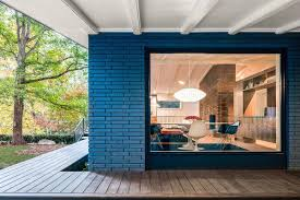 100 Modern Homes Design Ideas Mid Century Recreation House Brick And Glass Give