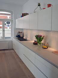betonarbeitsplatte für die küche material raum form hamburg