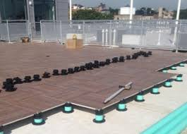 tile tech pedestal pavers system are designed for concrete pavers