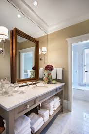 Astonishing Mirror Wall Decor Ideas Decorating Images In Bathroom Traditional Design