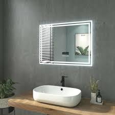 spiegel badspiegel led mit beleuchtung touch wandspiegel