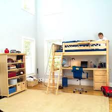 ikea bed desk combo loft desk combo simple wooden toddler size