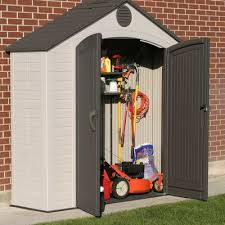 Step2 Lifescapestm Highboy Storage Shed by Lifetime 7 Ft 8 In W X 2 Ft 2 In D Plastic Vertical Tool Shed